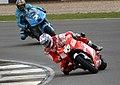 Nicky Hayden and Chris Vermeulen 2009 Donington Park.jpg