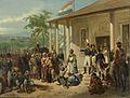 Nicolaas Pieneman - The Submission of Prince Dipo Negoro to General De Kock (Rijksmuseum Official).jpg