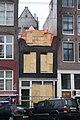Nieuwezijds Voorburgwal 138.after it burned 10 June 2012.JPG