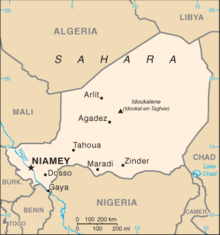 Outline of Niger Wikipedia