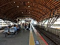 Nijo Station platform 2018-10-17.jpg