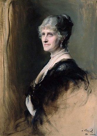 Cecilia Bowes-Lyon, Countess of Strathmore and Kinghorne - Portrait by Philip de László, 1931