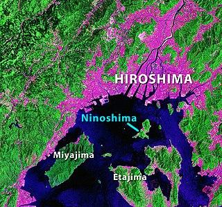 Ninoshima island in Hiroshima, Japan