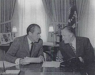 Housing segregation in the United States - President Nixon and HUD secretary George Romney talk