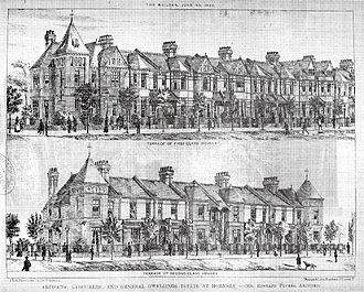 Noel Park - Plumbe's original designs for first- and second-class housing