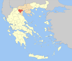 Imathia within Greece