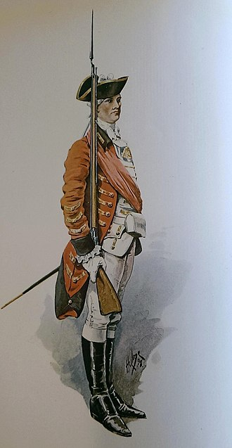 Norfolk Militia - Officer of the Norfolk Militia, 1759