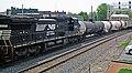 Norfolk Southern Railway - 8379 diesel locomotive (Marion, Ohio, USA) (42503980554).jpg