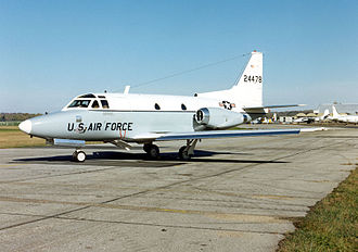 1964 T-39 shootdown incident - A T-39 Sabreliner of the U.S. Air Force