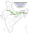 North East Express (Guwahati - Delhi) Express Route map.jpg
