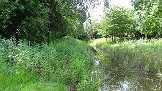 Northolt Manor - Northolt Manor moat