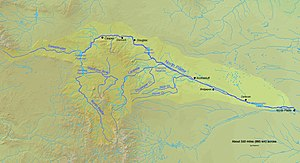 Platte River - North Platte River watershed and course