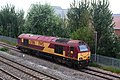 Norton Fitzwarren - DB Cargo 67016 running light to Bishops Lydeard.JPG