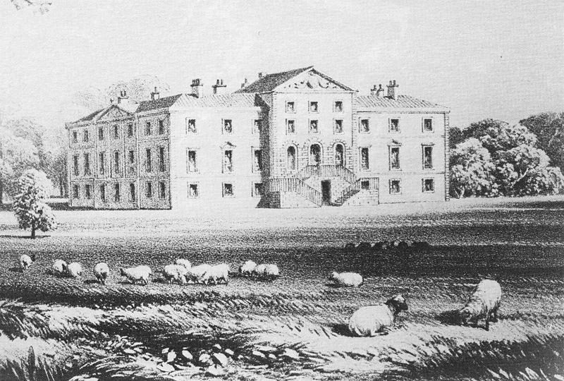 Norton Priory  - the Georgian house before 1868