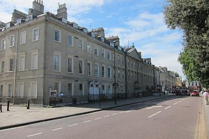 1741 in architecture - North Parade, Bath