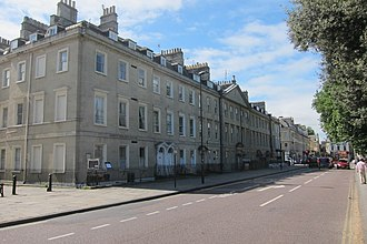 North Parade, Bath - Image: Nos. 7 12 North Parade, Bath