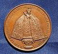 Notre-Dame de La Délivrande (Calvados) Couronnement 1872 (avers médaille).jpg