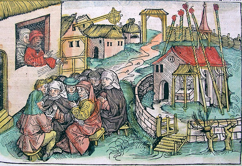 File:Nuremberg chronicles - Man Preaching from Window (CCLVr).jpg