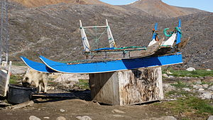 Nuussuaq - Dogsleds remain the means of transport in the winter