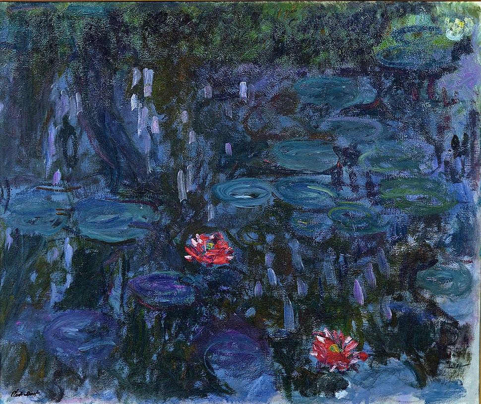 Nymphéas reflets de saule 1916-19