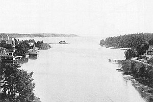 Sailing at the 1912 Summer Olympics - Image: Nynäshamn view