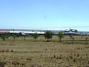 Frankfort, Free State - Industrial buildings in Frankfort