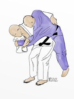 O goshi Judo technique
