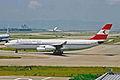OE-LAH A340-212 Austrian Airlines KIX 14JUL01 (7063886843).jpg