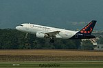 OO-SSU Airbus A319-111 A319 - BEL (29878682771).jpg