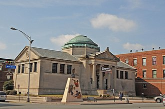 Orange Public Library - Image: ORANGE FREE PUBLIC LIBRARY, ORANGE, ESSEX COUNTY, NJ