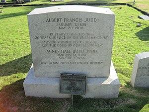 Albert Francis Judd - Tombstone of Albert Francis Judd in Oahu Cemetery