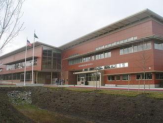 Oak Harbor High School (Washington) - Image: Oak Harbor High School 2011