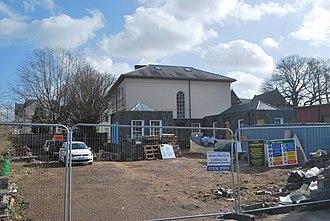 Oak House, Monmouth - Image: Oak House Monmouth Rear
