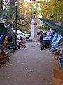 Occupy Portland November 9 sweeping alley.jpg