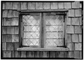 October 1969 SOUTH WINDOW DETAIL - Jethro Coffin House, Sunset Hill, Nantucket, Nantucket County, MA HABS MASS,10-NANT,40-10.tif