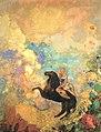 Odilon Redon - The Muse on Pegasus - Gunma Museum of Modern Art.jpg