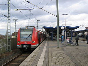S1 (Rhine-Main S-Bahn) - S1 at Offenbach East Station