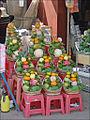 """Offrandes destinées à la Déesse """"Ba Chua Xu"""" (Chau Doc, Vietnam) (6602144893).jpg"""