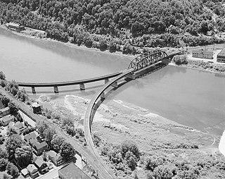 Oil City Pennsylvania Railroad Bridge