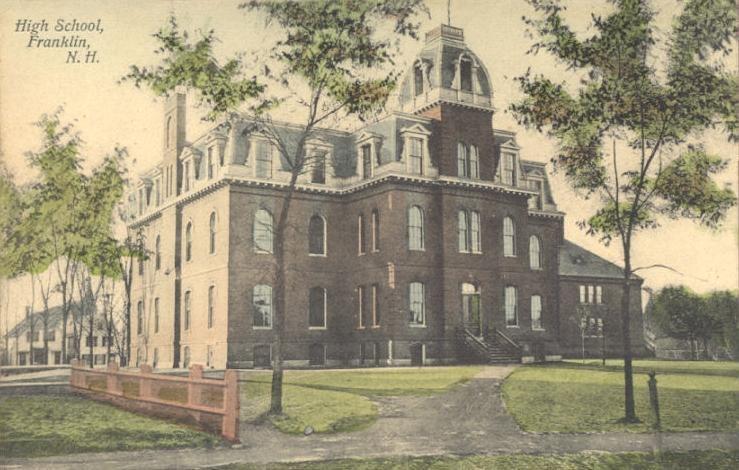 Old High School, Franklin, NH