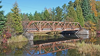 Old US 41–Backwater Creek Bridge bridge in United States of America