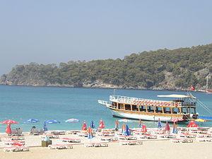 Ölüdeniz - Image: Oludeniz beach