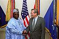 Olusegun Obasanjo with Donald Rumsfeld DD-SC-07-14393.jpg