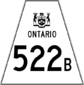 Highway 522B shield