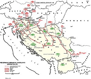 1st Cavalry Division (Kingdom of Yugoslavia) - Image: Operation 25yu