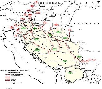 Adriatic Campaign of World War II - Adriatic Sea in 1941, during the Nazi invasion of Yugoslavia