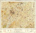 Ordnance Survey Quarter-inch sheet 13 The Midlands, published 1962.jpg