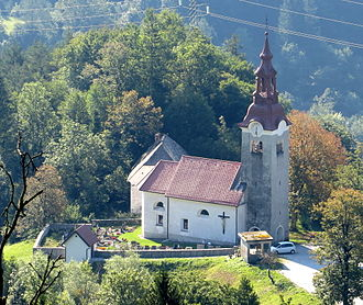 Orehek, Cerkno - Saint Ubald's Church