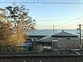 Osaka Bay from train of Sanyo Electric Railway near Sumaura-Koen Station.jpg