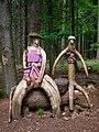 Ostercappeln - Holzfiguren im Wald -BT- 02.jpg